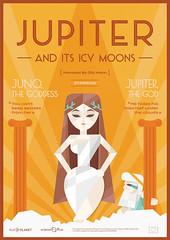 Juno, the Goddess. Jupiter, the God. (europlanetmedia) Tags: print poster greek media europe god eu science nasa planet mission astronomy planetary jupiter scientist esa ec goddes epsc europlanet