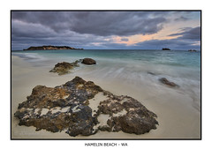 Hamelin Beach Sunrise (JChipchase) Tags: seascape clouds sunrise nikon d750 westernaustralia hamelinbay