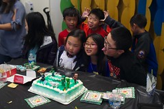 8517 Boys still (mliu92) Tags: birthday party daughter sanmateo figgy minecraft