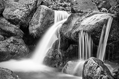 Let's get a little wet (OR_U) Tags: longexposure blackandwhite bw water blackwhite waterfall iceland moss rocks le oru schwarzweiss 2016 nicolescherzinger
