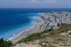 - Rodos island (Eleanna Kounoupa) Tags: blue sea sky beach islands town greece rodos       dodecaneseislands
