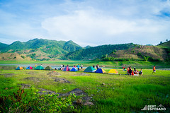 Camping at Alapasco Lake (Bert Esposado) Tags: travel camping mountains nature colors landscape photography scenery outdoor philippines iloilo attractions