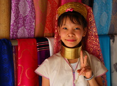 Karen tribe girl. Thailand (joseluis.cueto) Tags: portrait girl smile canon thailand eos kid asia chica child retrato tailandia karen nia longneck sonrisa infancia chiangrai 6d padaung kayan kayin karenni 2470f4 canon6d