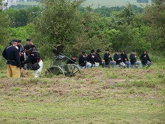 Civil War Reenactment - The Battle of Temple Junction, Temple, Texas (Brynn Thorssen) Tags: temple texas smoke union rifle battle historic confederate civilwar cannon shooting reenactment americanhistory gunfire