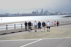 Wirral Walkers (DaveParryphotography) Tags: nikon events wirral newbrighton rotaryclub seacombeferry wirralcoastalwalk nikond7000