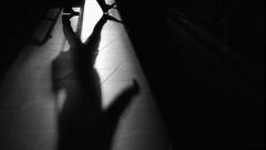 ... outofstep... (ines_maria) Tags: shadow shadowplay light urban blackandwhite bw street