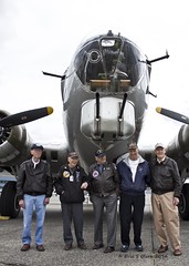 American Heroes (Eric S Olsen) Tags: seattle washington pacific northwest wwii b17 flyingfortress eaa boeingfield