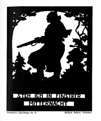 6s (DenjaChe) Tags: silhouette papercut germansoldiers