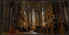Klner Dom / cologne cathedral (rapp_henry) Tags: nikon cathedral dom gothic kathedrale cologne indoor kln inside tamron worldheritage gotik weltkulturerbe d800 innenansicht baustil henryrapp 1530mm28
