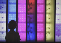 Silhouette in front of colors (__will) Tags: colors silhouette colorful silhouettes