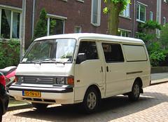 1997 Mazda E2200 Diesel (rvandermaar) Tags: 1997 mazda e2200 diesel mazdae2200 mazdabongo sidecode5 grijskenteken vstn67 rvdm