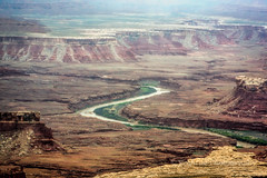 Meandering River (Roshine Photography) Tags: mountain river landscape utah us unitedstates outdoor hill canyon canyonlandsnationalpark moab meandering pentaxk3ii 2016utahtrip