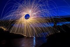 (Nikolas Fotos) Tags: longexposure nightphotography lightpainting nightscape nightshot nightphoto sparks lichtmalerei lightart llightpainting lightpaintingphotography stellwool