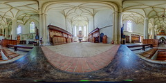 The church on the hill (Biserica din Deal) (jamescastle) Tags: panorama church architecture gothic 360 unesco romania vr easterneurope sighioara equirectangular