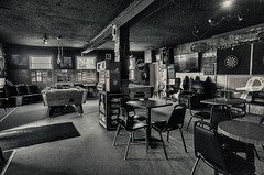 The Georgetown Pub .... ; (c)rebfoto (rebfoto) Tags: bw pub indoor rebfoto thegeorgetownpub