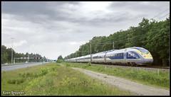 20160614 Eurostar 4013/4014, Driebergen (16501) (Koen Brouwer) Tags: eurostar perron trein train zug station gare bahnhof 4013 4014 hbf juni 2016 netherlands summer driebergen a12 snelweg