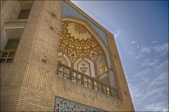 Khaju Bridge (Poria) Tags: old city bridge blue sky urban brick art architecture painting landscape landscapes persian ancient arch view iran  isfahan  esfehan brich  persianarchitecture architecht