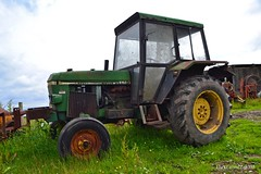 (Zak355) Tags: old tractor scotland farm farming scottish johndeere bute rothesay isleofbute