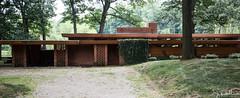 26/52-4:  Frank Lloyd Wright Smith House (JoyVanBuhler) Tags: project5x7 bloomfieldhills michigan usa us building