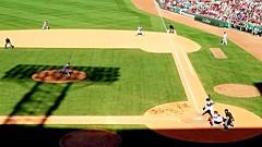 Shadows at Fenway (bpephin) Tags: shadow summer usa boston baseball sox redsox fenway bostonredsox mlb