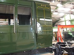 3-compartment Brake Third LBSCR No.4115 Built 1896