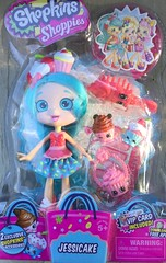 Jessicake doll (bumbledaph) Tags: shopkins shoppie doll moose toys jessicake cake blue hair