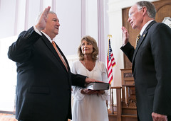 07-05-2016 Mike Hill Sworn In as Banking Commissioner