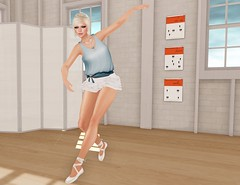 Didn't You Want to Be a Princess Ballerina? (Charisma Jonesford) Tags: fashion ballerina princess sl secondlife e ikon belleza floorplan adorkable redgrave magika slink teefy eclecticapparel maxigossamer fameshed