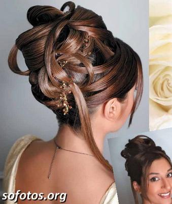 Penteados para noiva 212