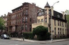 at the corner of Jefferson & Marcy (neppanen) Tags: usa house newyork building brooklyn america talo bedstuy rakennus discounterintelligence sampen
