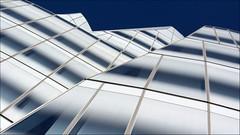 - New York 2013 - (Jacqueline ter Haar) Tags: nyc frankgehry iac building gehry newyork explore lookingup manhattan angle