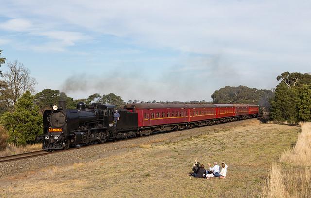 australia victoria navigators k153 rpauvickclass rpauvickclassk153 railpage:loco=k153 railpage:class=23 railpage:sighting=560 railpage:event=19