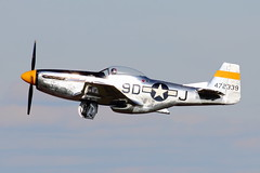 North American P-51 Mustang (iamsam2407) Tags: world 2 museum ball james war texas jan smoke north flight jet american micro bond randy cornell mustang 300 trojan miss warbirds fairchild extra hind texan mil radial t6 p51 cavanaugh bede t28 yak52 pt19 mig17 cj6 bd5 mi24 collmer aerobactics phylers