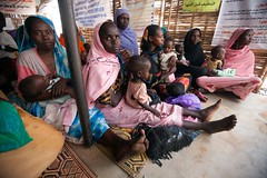 Clinic in Zam Zam IDP Camp (UNAMID Photo) Tags: women sudan un health unitednations clinic emergency humanitarian malnourished usg idp zamzam northdarfur internallydisplacedpersons elfasher undersecretarygeneral