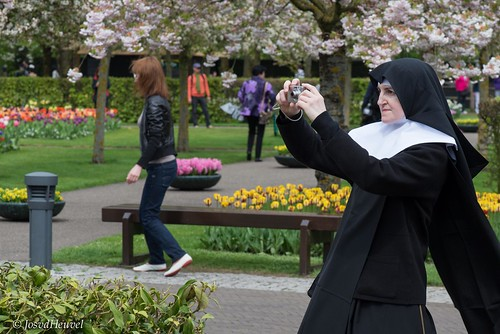 A Nun taking a picture :D