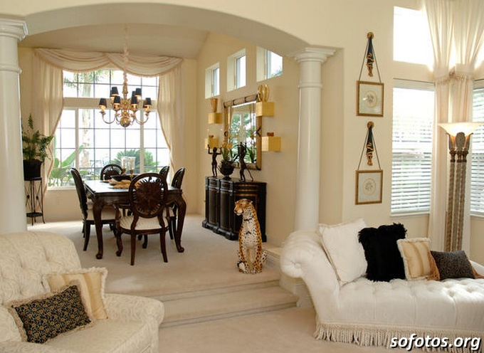 Salas de jantar decoradas (87)