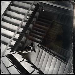 Stairs (denisperekhrest) Tags: noflash hipstamatic gsquadlens dtypeplatefilm
