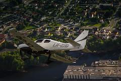 Cessna 400 Corvalis TT (jarud) Tags: 2013 aircraft airplane cessna fly flyteknisk norge norway notodden scandinavianaircraft seaplane sjøfly 400 corvalis tt