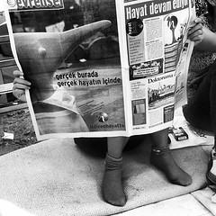 "Penguin news on Gezi Park. #turkishprotest #gezipark #penguinprotest #istanbul • <a style=""font-size:0.8em;"" href=""http://www.flickr.com/photos/8861229@N06/9050153270/"" target=""_blank"">View on Flickr</a>"