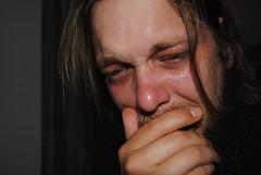 Day 74a {439} (Alabaster Frank) Tags: portrait self project tears humanity depression 365 sorrow mentalhealth schizophrenia mentalillness