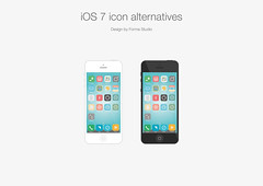 iOS 7 icon alternatives - by Forma Studio (H. Svanegaard) Tags: graphicdesign icons alternatives 2013 iconalternative madssvanegaard formastudio ios7