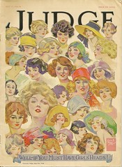Judge Magazine Faces (The Pocket Turd) Tags: girls vintage magazine women faces judge artdeco
