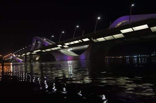 Sheikh Zayed Bridge 3 ©  Still ePsiLoN