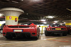 Enzo & 512 BB (6GTO) Tags: classic canon photography eos photo ferrari enzo 100 bb 1000 supercars combo 512 v12 mille miglia 550d worldcars 6gto