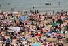Clacton-on-Sea, Essex (**Anik Messier**) Tags: uk vacation england sun holiday beach crowd essex clactononsea ukcoast welcomeuk
