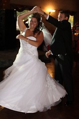7056 (Marbeck53) Tags: wedding ohio people woman man male beautiful smile female canon kyle eos dance couple married dress spin brooke reception twirl persons tux humans libertytownship 60d marbeck53 markriesenbeck