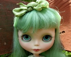 Willow's new handpainted TEAL eyes