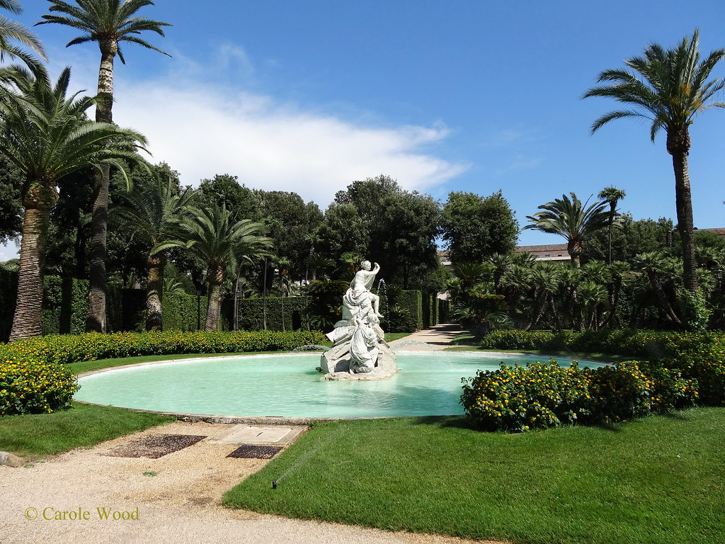 The world 39 s best photos by fontaines de rome flickr hive mind - I giardini del quirinale ...
