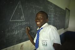 Wings to Fly - Ushindi Ayieko, a student at Mpeketoni High School.