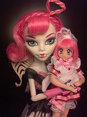 Best friends for a reason~! (BlackKat) Tags: ca 2 monster tokyo high doll dolls sweet 1600 collection cupid elegant mew ichigo momomiya flickrandroidapp:filter=none